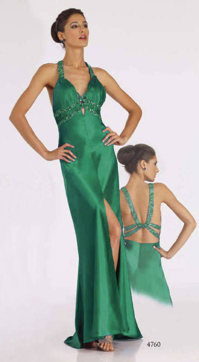 Semi-formal long Dave and Johnny 4760 prom dress - 2009 Dave and ...