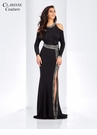 Dolman Sleeve Evening Gown 4946