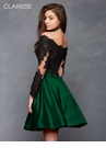 Dramatic Long Sleeved Two Piece Homecoming Dress s3581| 3 Colors!