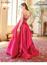 Dramatic Raspberry Pink Ball Gown 3478