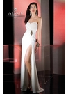 Elegant Strapless Alyce Prom Dress 35493