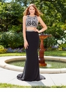 Embellished Two Piece Prom Dress 3438 | 3 Colors!
