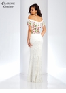 Embroidered Lace Prom Dress 4954
