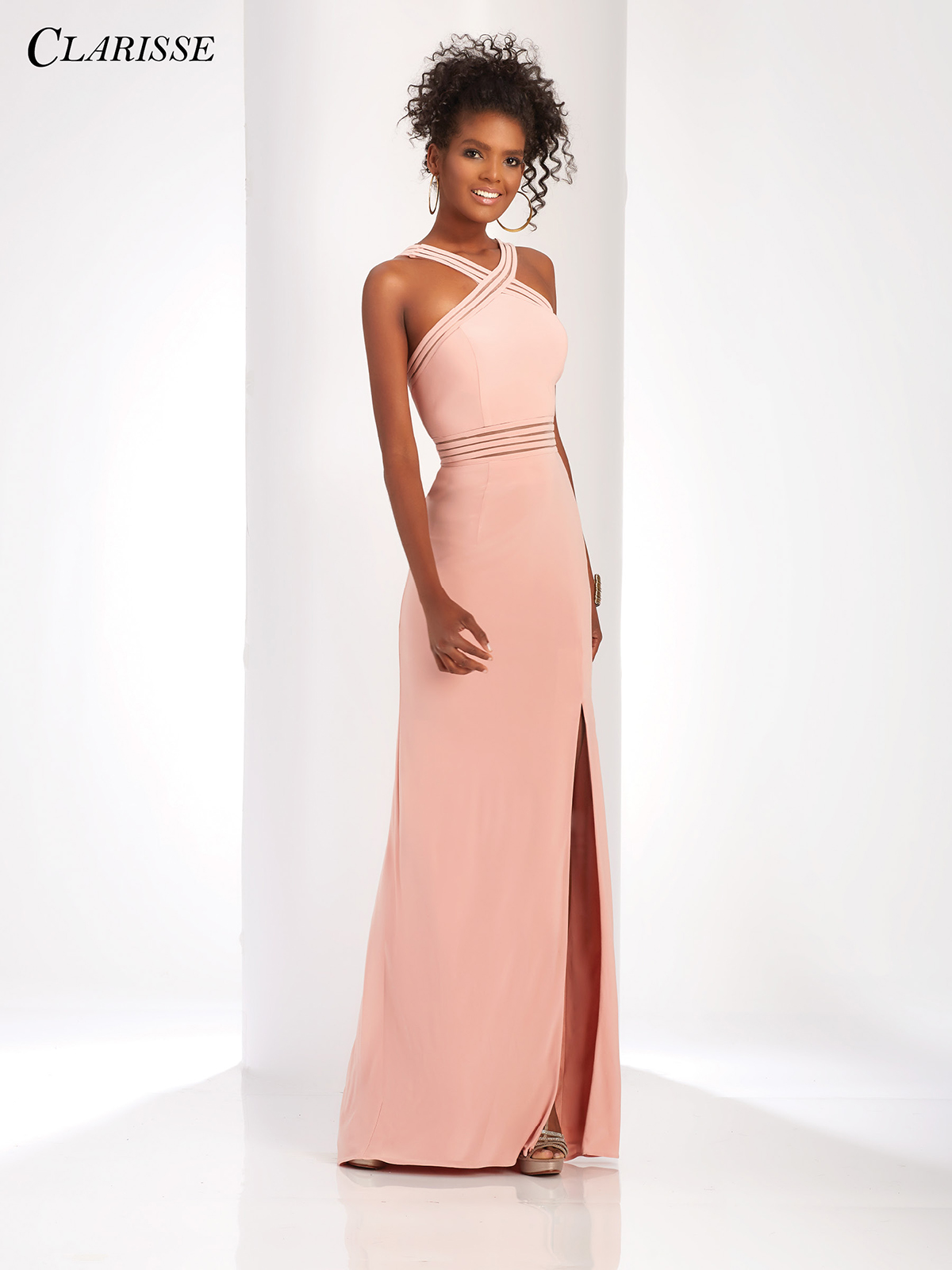 bdba8bb57fd Colorful Fitted Prom Dress 3483