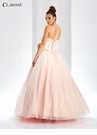 Floral Basque Waist Ball Gown 3505