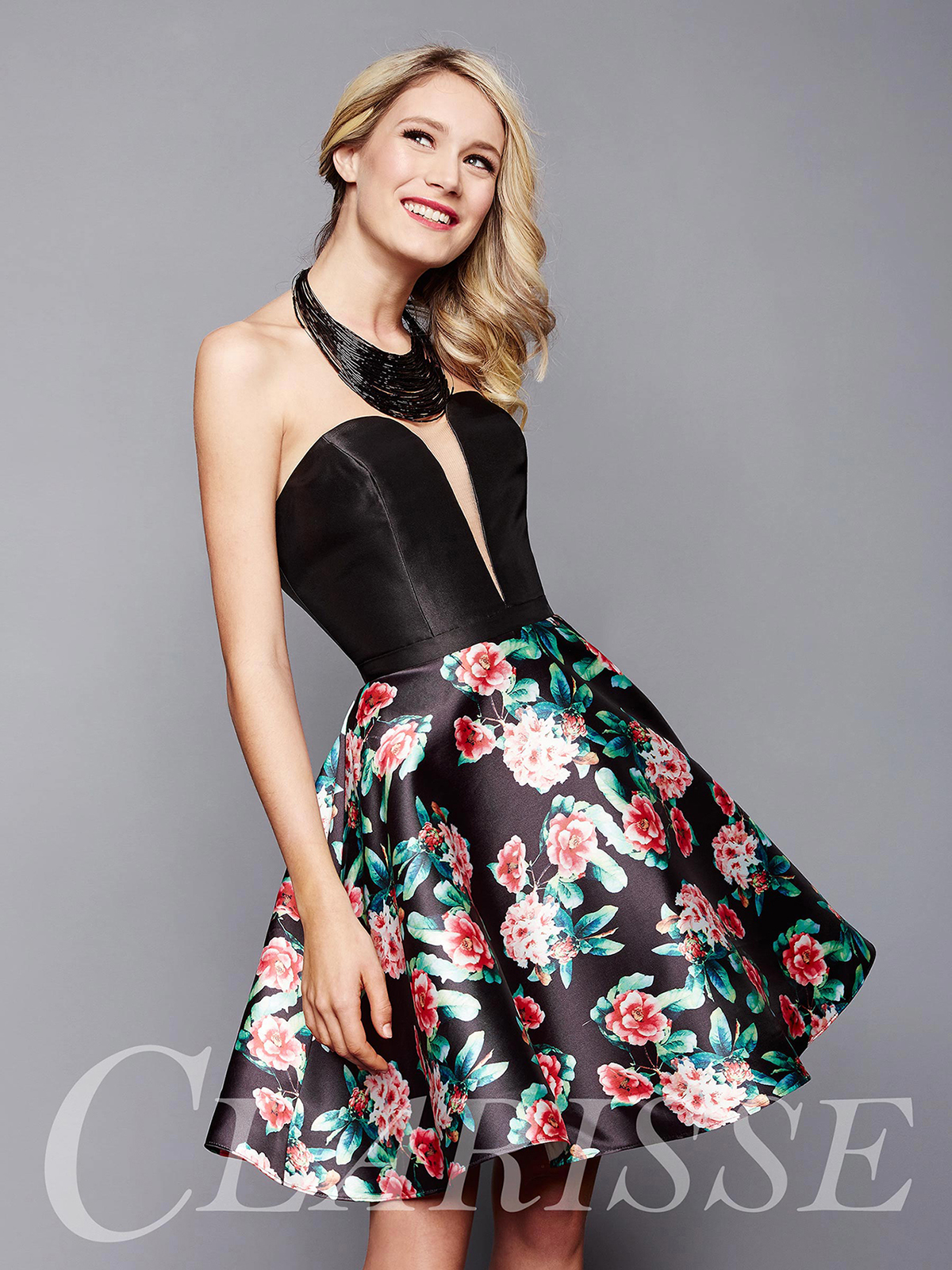 Clarisse Homecoming Dress 3302 | Promgirl.net