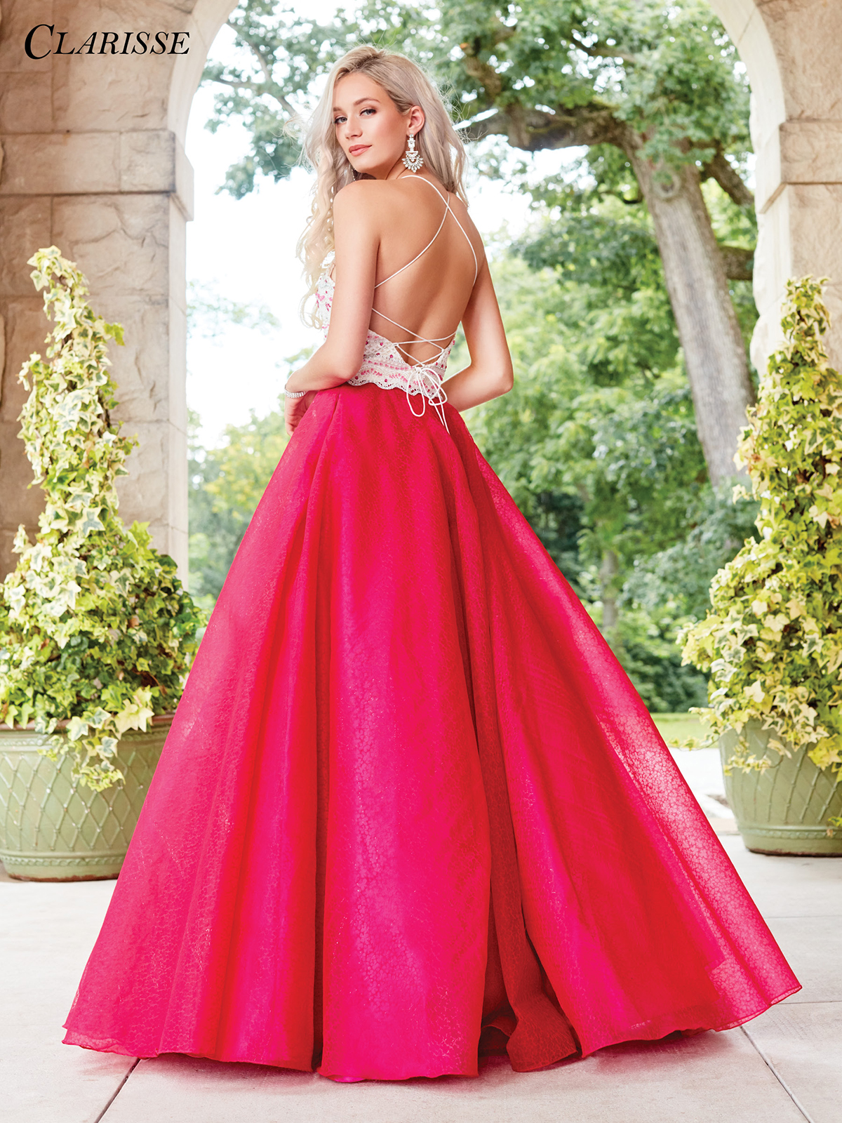 Lace Ball Gown Prom Dress