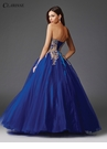 Gold and Royal Ball Gown 3508
