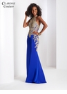 Gold Lace Embellished Prom Dress 4962 | 4 colors!