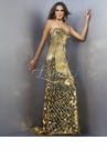 Gold Sequin Landa Gown 101