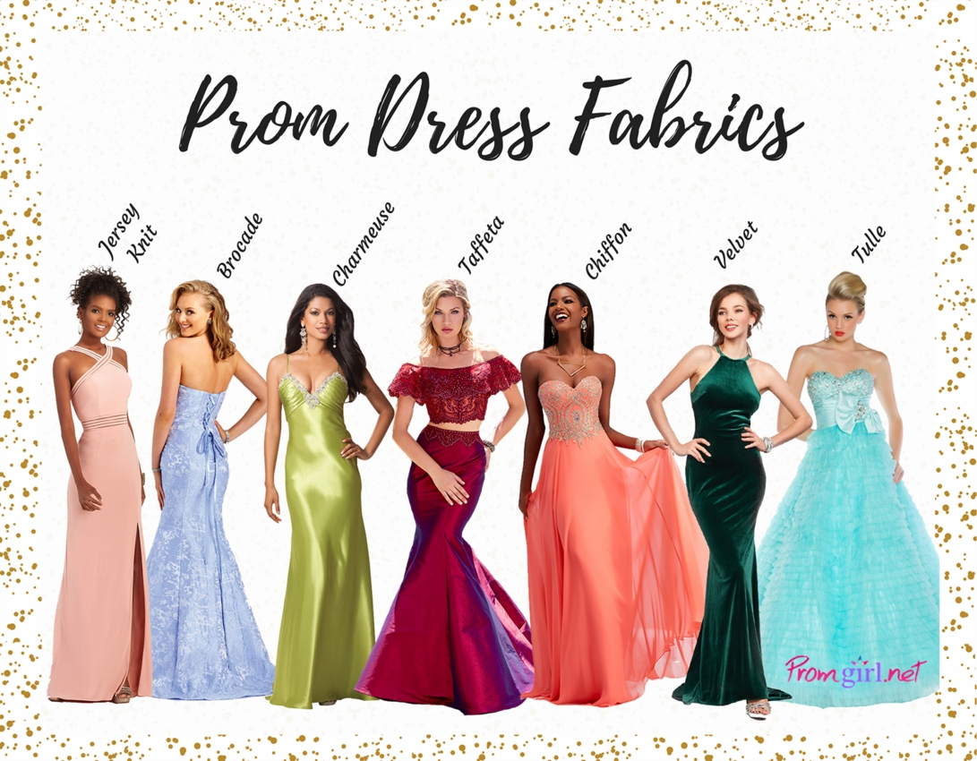 Guide to fabrics promgirl prom dress fabric guide ombrellifo Choice Image