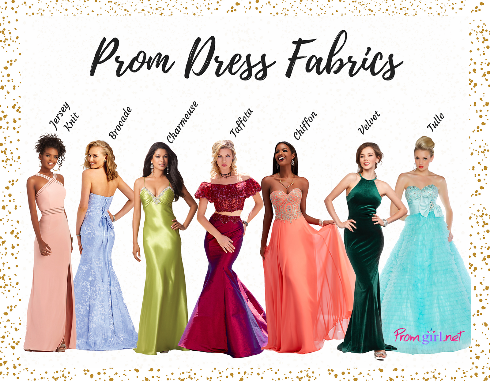 49214444bd4b Guide to Fabrics | Promgirl.net