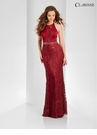 Halter Neck Embroidered Prom Dress 3557 | 2 Colors!