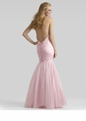 Pink Halter Prom Gown 2333