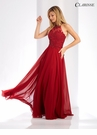 High Neck A-line Evening Gown 3528 |10 Colors!