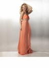 Iridescent Chiffon Prom Dress 17149