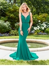Jewel Tone Fitted Prom Dress 3492 | 2 Colors!