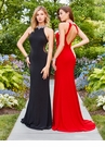 Jeweled Neck Long Prom Dress 3547 | 5 Colors!