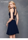 Lace and Chiffon Two Piece Homecoming Dress s3427 | 2 Colors!