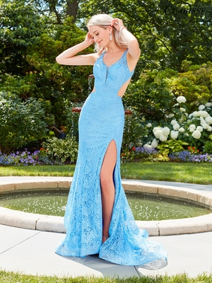 Plain Fitted Prom Dresses Colors