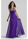 Luxurious Purple Evening Gown 2384