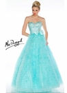 Mac Duggal Layered Tulle Ball Gown 4759