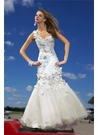 Mac Duggal Floral Mermaid Prom Dress 6000