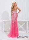 Sparkly Mermaid Prom Gown 114740 | 2 Colors!