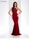 Minimalist Long Fitted Prom Dress 3519 | 2 Colors!