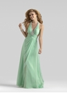 Mint Halter Gown 2133 By Clarisse