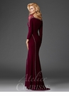 Modern Long Sleeve Evening Gown M6433