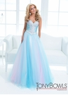 Multi Color Tony Bowls Gown 114723