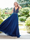 Multicolor Beaded A-line Prom Dress 4925