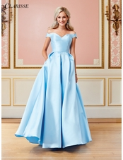 Off the Shoulder Ball Gown 3442 | 6 Colors!