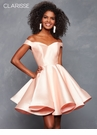 Off the Shoulder Corset Homecoming Dress s3442| 8 Colors!