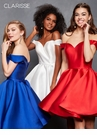Off the Shoulder Corset Homecoming Dress s3442| 5 Colors!