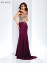 Off the Shoulder Evening Gown 3452 | 3 Colors!