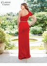 One shoulder evening gown 4929 | 5 colors!