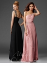 One Shoulder Evening Gown M6403