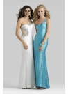 One Shoulder Gown 2363 by Clarisse