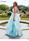 Organza Print Ball Gown 3552 | 2 Colors!