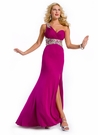 Party Time One Shoulder Prom Gown 6109