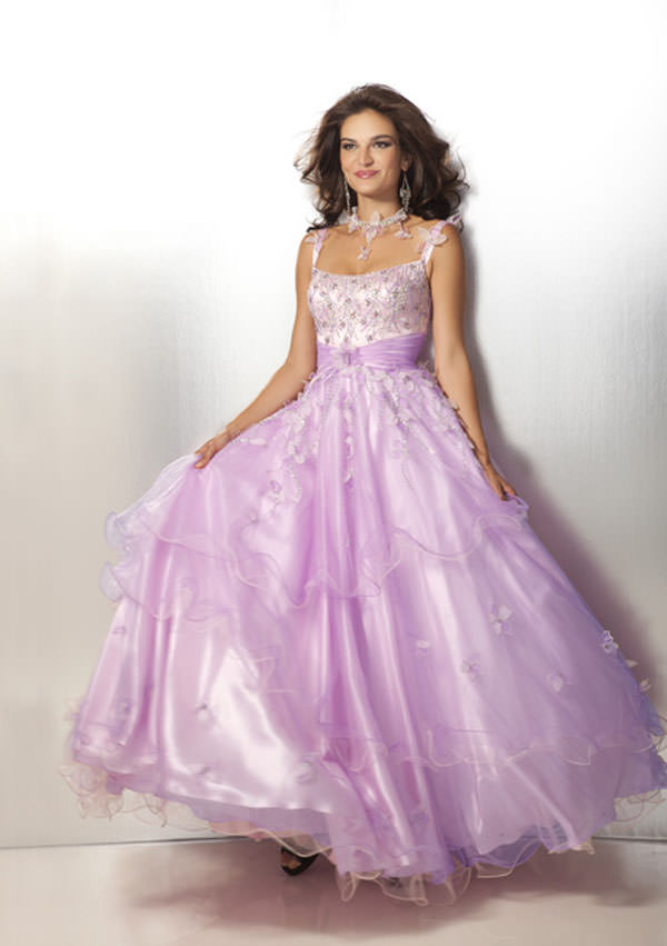 Clarisse 2012 Pink and Lilac Ballgown 17194