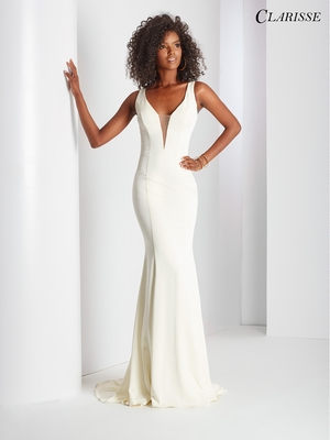 White Prom Dresses for Graduation – Long White Dresses | Promgirl.net