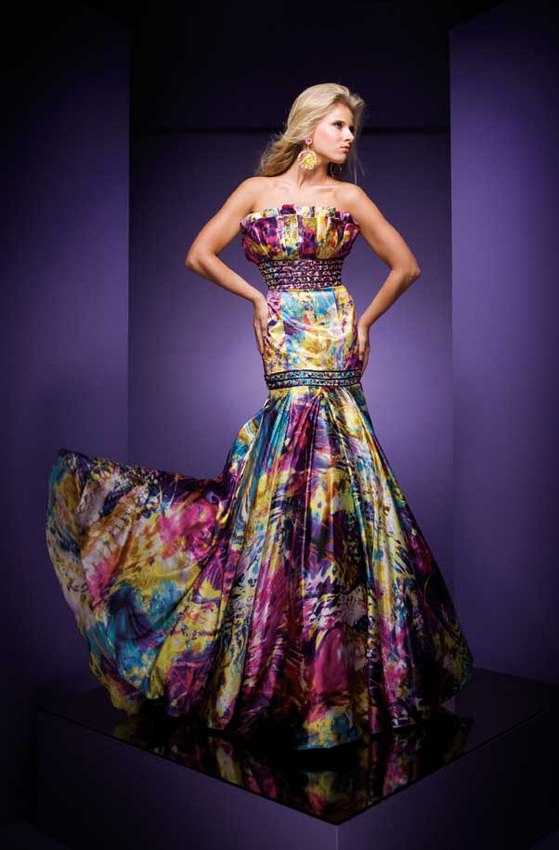 Prom dresses Tony Bowls style 110744 - 2010 prom dresses collection