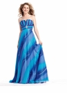 Long Ombre Prom Dress 1371
