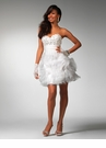 Short Ruffled Formal Dress 1503