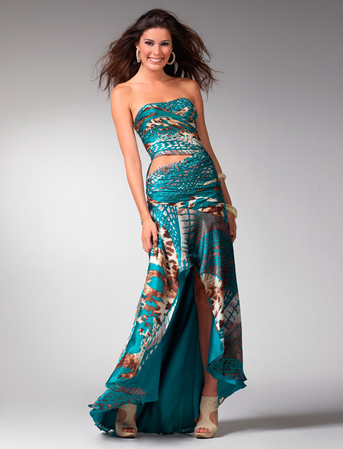 Clarisse Prom dress 1547 | Teal formal dresses | Prom gowns 2011