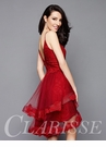 Red Lace Cocktail Dress 3366