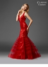 Red Sequin Mermaid Prom Dress 4951
